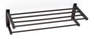 Cube Towel Rack A6526-24 - Chocolate Bronze