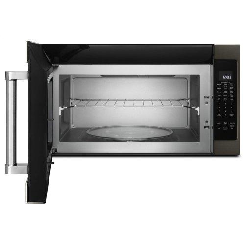 "1000-Watt Microwave with 7 Sensor Functions - 30"" - Black Stainless Steel with PrintShield™ Finish"