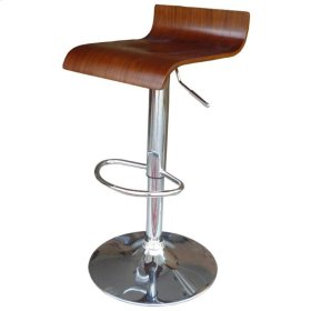 Moda Gaslift Bar Stool, Espresso