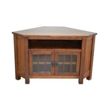 "Medallion 62"" Corner TV Unit"