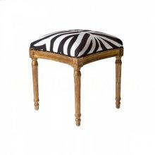 Petite Square Bench, Zebra