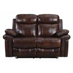 Leather Italia Usa E2117 Joplin Loveseat 1081lv Brown