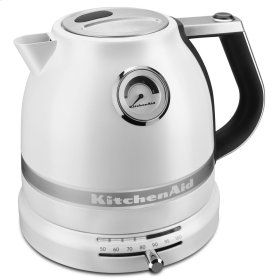 Pro Line® Series Electric Kettle - Frosted Pearl White