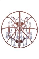 1130 Geneva Collection Wall Lamp Rustic Intent Finish Product Image
