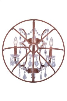 1130 Geneva Collection Wall Lamp Rustic Intent Finish