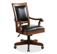 Bristol Court Desk Chair Cognac Cherry finish Product Image