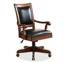 Bristol Court Desk Chair Cognac Cherry finish