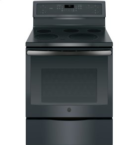 "GE Profile Series 30"" Free-Standing Electric Convection Range"