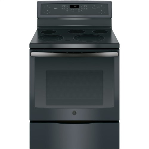 """GE Profile™ 30"""" Free-Standing Electric Convection Range"""
