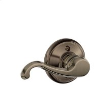 Callington Lever Non-turning Lock - Antique Pewter