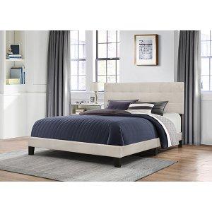 King Delaney Bed In One - Fog
