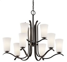 Armida 9 Light 2 Tier Chandelier Olde Bronze®