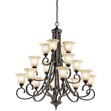 Monroe Collection Monroe 16 Light Chandelier OZ