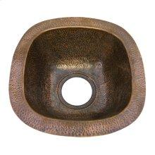 """Trent Prep/Bar Sink, 12"""" - Hammered Antique Copper"""