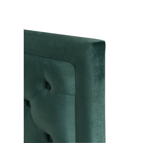 Emerald Home Cal King 6/0 Upholstered Headboard Emerald Green #501 B219-13hb-08