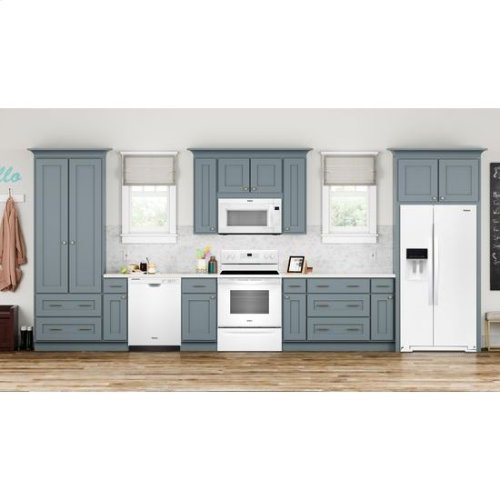 Whirlpool® 5.3 cu. ft. Freestanding Electric Range with Adjustable Self-Cleaning - White