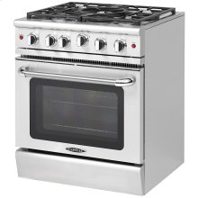 "30"" Gas Convection Range with 5 Sealed Burners 19K BTU"