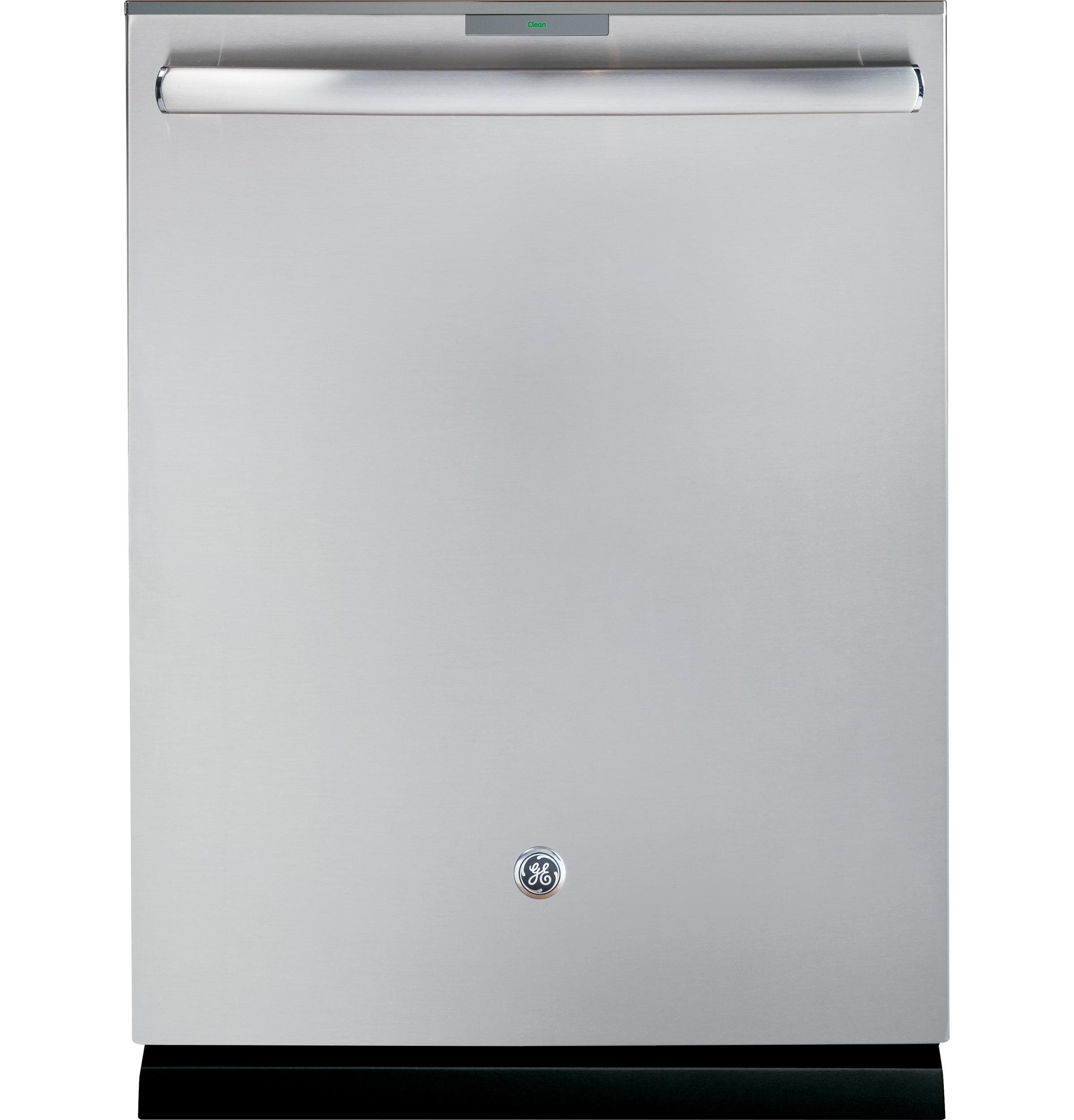 GE Profile(TM) Stainless Steel Interior Dishwasher with Hidden Controls