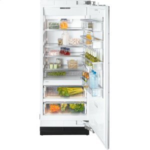 MieleK 1803 SF MasterCool refrigerator with high-quality features and maximum storage space for fresh food.