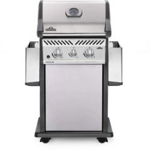 Rogue® 365 Propane Gas Grill with Infrared Side Burner, Stainless Steel