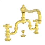 Forever Brass - PVD Lavatory Bridge Faucet