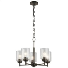 Winslow Collection Winslow 5 Light Chandelier OZ