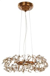 Crystal Garden 6-Light Pendant