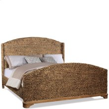 Sherborne - Queen/king Bed Rails - Toasted Pecan Finish