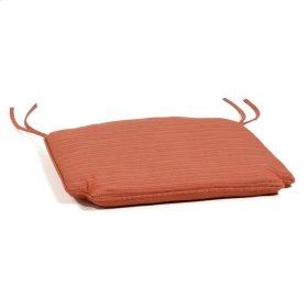 Rocking Chair Cushion - Dupione Papaya