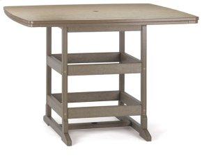 """58""""x58"""" Bar Table"""