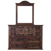 """Dresser : 65"""" x 21"""" x 45"""" Medio Mansion with Star Dresser"""