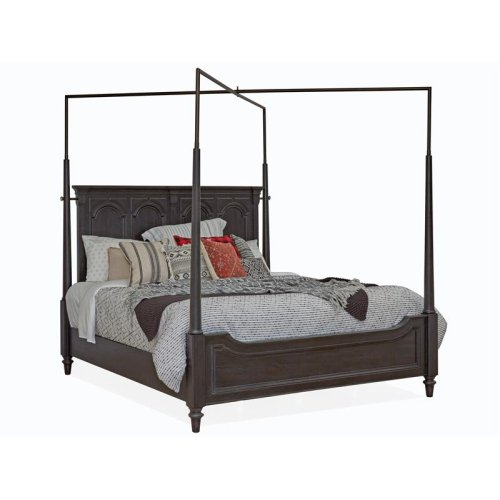 Complete King Canopy Bed