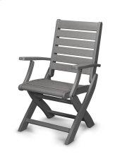 Slate Grey Folding Chair Product Image