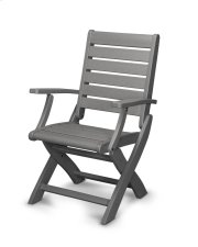 Slate Grey Folding Chair Product Image