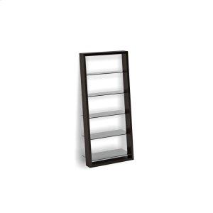 Bdi FurnitureLeaning Shelf 5156 in Espresso