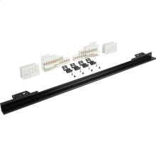"30"" Black Flush Install Trim Kit"