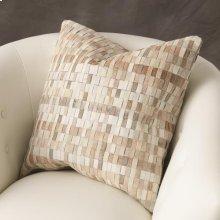 Brickweave Pillow-Hair-on-Hide