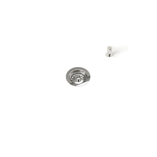 Drain 100120 - Stainless steel sink accessory , Polished Chrome, 3 1/2""