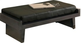 Perspectives Leather Bed Bench