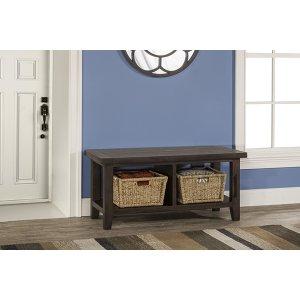 Hillsdale FurnitureTuscan Retreat(r) Blanket Bench - Weathered Gray