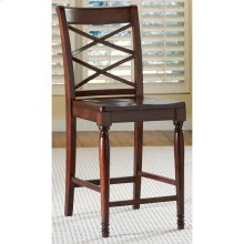 Counter Height Double X Side Chair