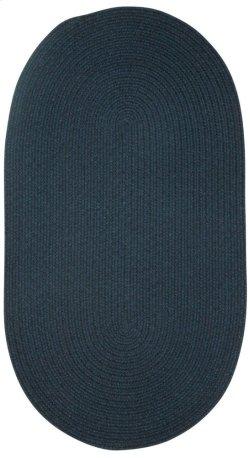 Heathered Pinwheel Navy Blue Solid (Custom)