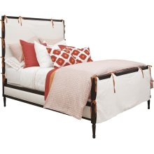 Candler Queen Bed with Slipcover
