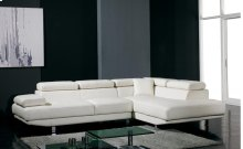 Divani Casa T60 - Modern Leather Sectional Sofa