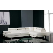 Divani Casa T60 - Modern Leather Sectional Sofa