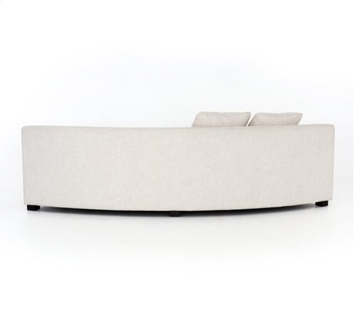 Right Arm Facing Configuration Dover Crescent Cover Liam Sectional Pieces