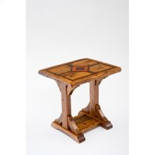 Mustang Canyon 30 X 24 Timber Frame Side Table