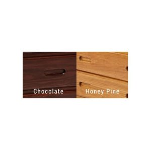Heartland 4 Drawer Chest with options: Honey Pine