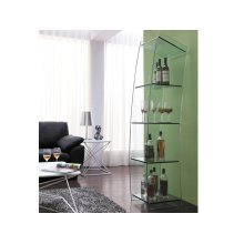 The Mate Clear Bookcase