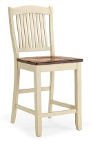 Slat Back Stool (buttermilk) Product Image